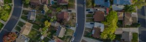 Residential neighborhood looking for roofing companies
