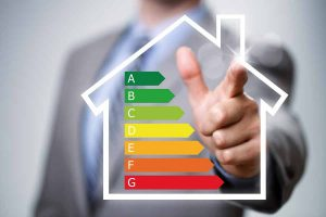 Energy savings with new insulation