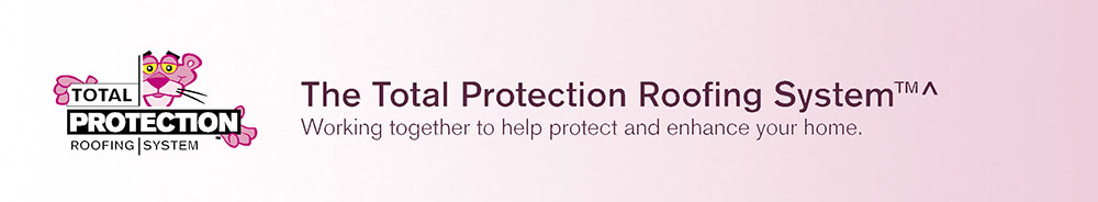 Owens Corning Total Protection Roofing System Banner