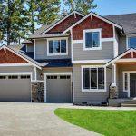 Landscape photo of high-quality house siding