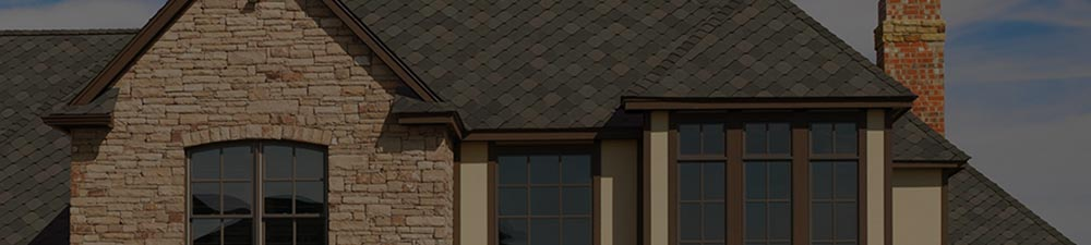 Side of home with new shingles from GAF's Sienna lin