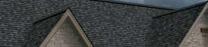 Front of home with new shingles from Owens Corning Storm line