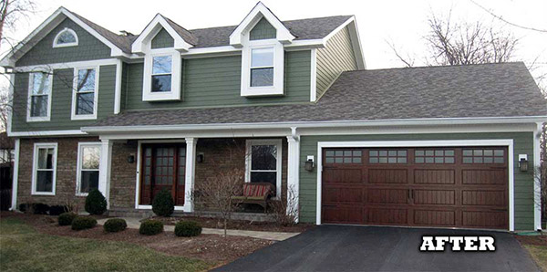 After James Hardie Siding Installation