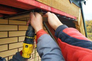 Roof fascia repair
