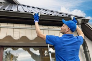 Replacement of rain gutters
