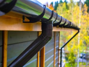Cleaning of rain gutters