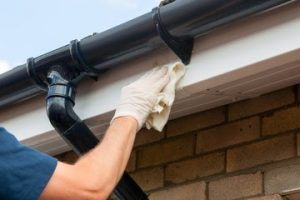 Gutter cleaning in Roselle
