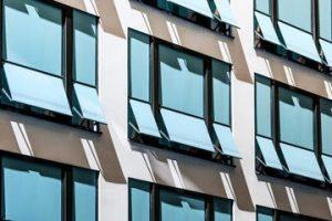 Fiberglass awning windows